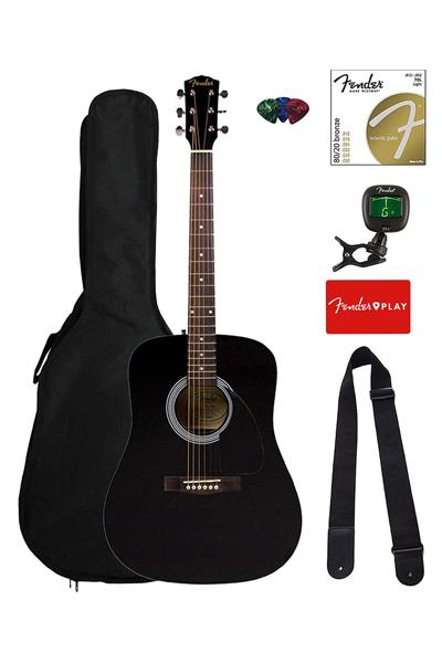 Fender FA-115 Dreadnought best acoustic guitars for blues