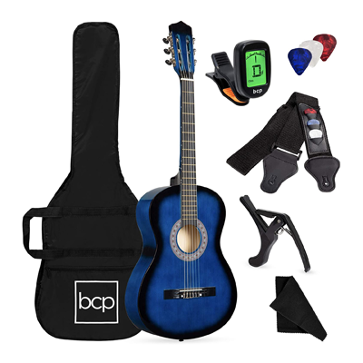 Beginner All Wood Acoustic Guitar