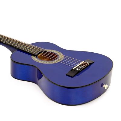 Left Handed Wood Guitar